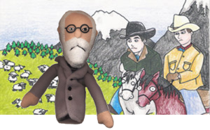freud and bb mountain